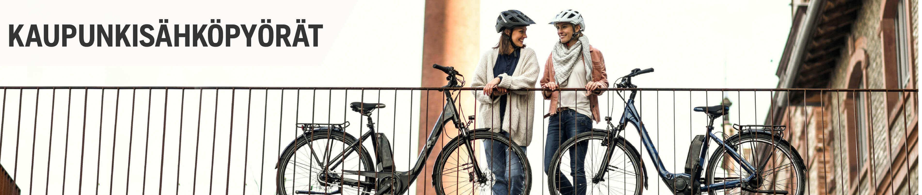 Sähköpyörä kaupunkikäyttöön