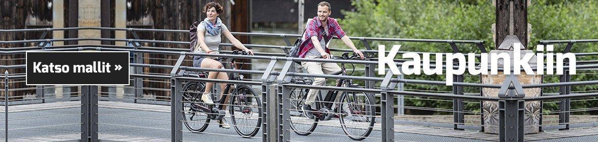 Sähköpyörä kaupunki käyttöön